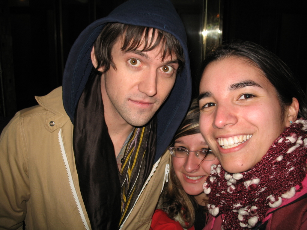 Conor Oberst and I in Santiago Chile.